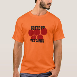 Dalai Lama Support Crew - Blood Games - orange T-Shirt