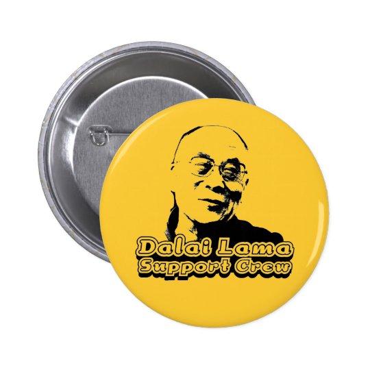 Dalai Lama Support Crew Button