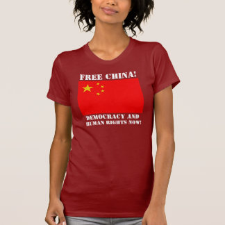 Dalai Lama Support Crew - FREE CHINA! - Customized T-Shirt