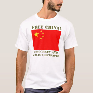 Dalai Lama Support Crew - FREE CHINA! T-Shirt