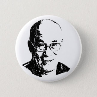 Dalai Lama T-shirt Pinback Button
