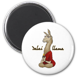 Dalai Llama 2 Inch Round Magnet
