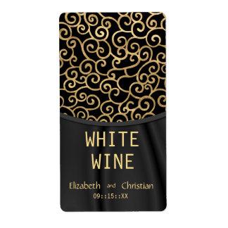 Dalarian Wedding Wine Labels