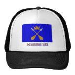 Dalarnas län waving flag with name hats