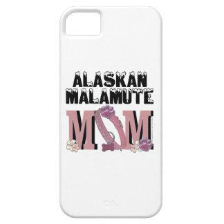d'Alaska de MAMAN de Malamute iPhone 5 Fundas