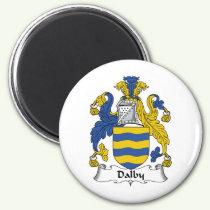 Dalby Family Crest Magnet