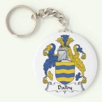 Dalby Family Crest Keychain