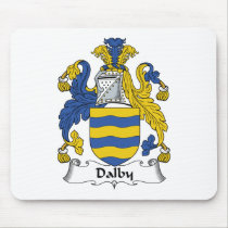 Dalby Family Crest Mousepad