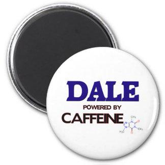 Dale accionó por el cafeína imán redondo 5 cm