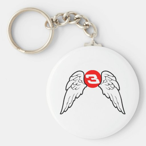 Dale Angel Wings Key Chains
