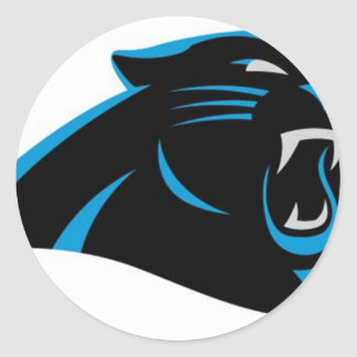 Dale City Sports Club Panthers Under 6 Classic Round Sticker