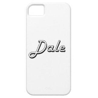 Dale Classic Retro Name Design iPhone 5 Cases