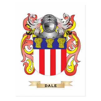 Dale Coat of Arms Postcard