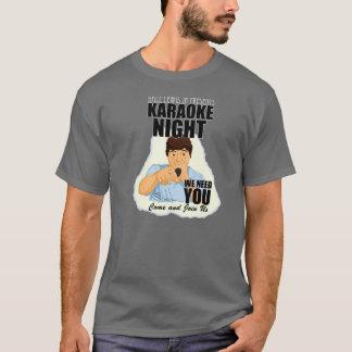 Dale Jr Karaoke blk (Darrell design) T-Shirt