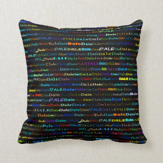 Dale Text Design I Throw Pillow