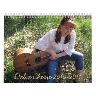Dalea Cherie 2010-2011 Calendar
