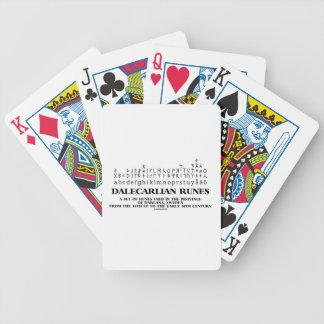 Dalecarlian Runes Set Of Runes In Darlana Sweden Deck Of Cards