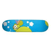 "Dalek ""Rainbow Thoughts"" Skateboard"