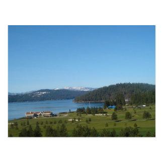 d'Alene de Coeur de 005 lagos Postales