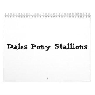 Dales Pony Stallions calendar