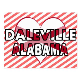 Daleville, Alabama Postcard