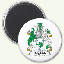 Dalgleish Family Crest Magnet