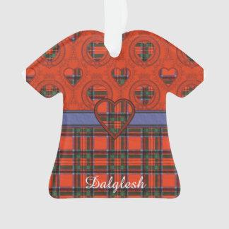 Dalglesh clan Plaid Scottish kilt tartan Ornament