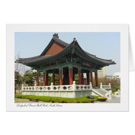Dalgubeol Grand Bell Park, Daegu, South Korea Card