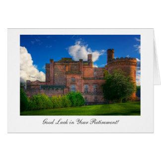 Dalhousie Castle, Good luck in Retirement Card