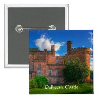Dalhousie Castle, Midlothian, Scotland 2 Inch Square Button
