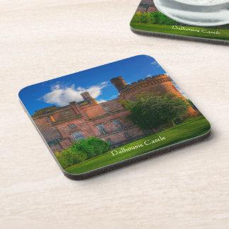 Dalhousie Castle, Midlothian, Scotland Beverage Coaster