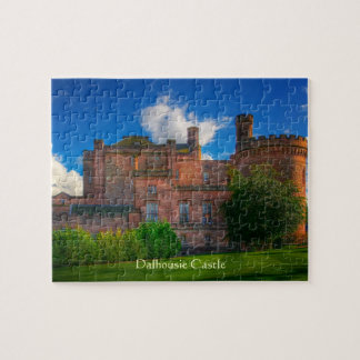 Dalhousie Castle, Midlothian, Scotland Jigsaw Puzzle