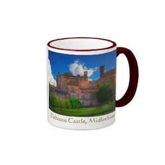 Dalhousie Castle, Midlothian, Scotland Ringer Mug