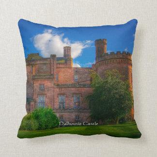 Dalhousie Castle, Midlothian, Scotland Throw Pillow