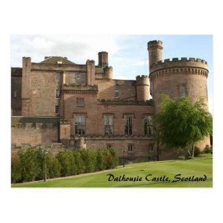 Dalhousie Castle, Scotland Postcard