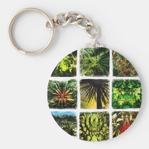 Dali Plants Key Chain