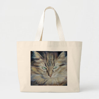 Dali Whiskers Large Tote Bag