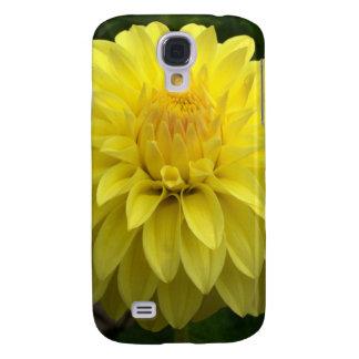 Dalia amarilla en productos múltiples samsung galaxy s4 cover