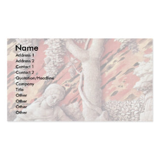 Dalia And Samson By Andrea Mantegna Double-Sided Standard Business Cards (Pack Of 100)
