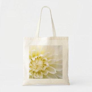 Dalia blanca bolsa