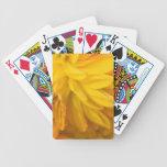 Dalia de oro romántica cartas de juego