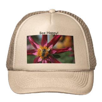 ¡Dalia y abeja! Gorras
