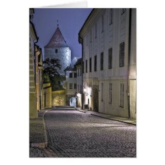 Dalibor Tower Prague Castle Card