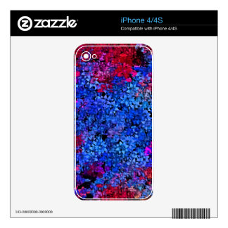 Daline's Garden Decal For iPhone 4