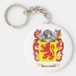 Dalla Corte Coat of Arms Basic Round Button Keychain