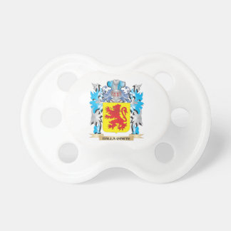 Dalla-Corte Coat of Arms - Family Crest Baby Pacifiers