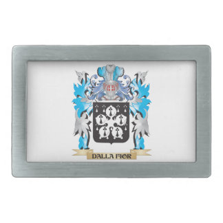 Dalla-Fior Coat of Arms - Family Crest Belt Buckles