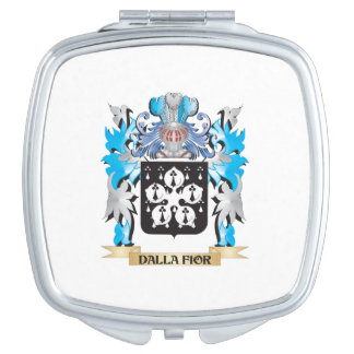Dalla-Fior Coat of Arms - Family Crest Vanity Mirrors