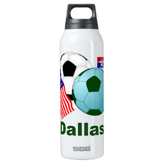 Dallas 16 Oz Insulated SIGG Thermos Water Bottle
