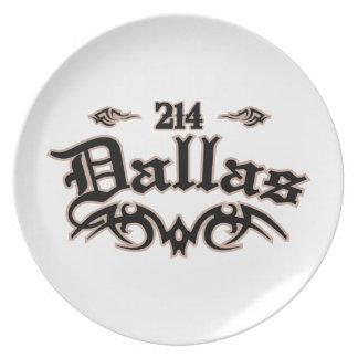 Dallas 214 plato de cena